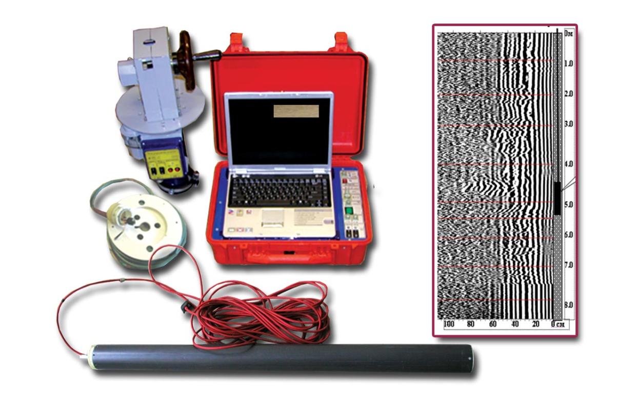 Скважинный георадарный комплекс ОКО с экранированным антенным блоком АБ – 700СК