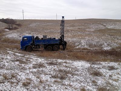 Инженерно-геологические изыскания для высоковольтной линии