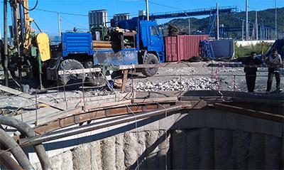 Инженерно-геологические изыскания для строительства олимпийских объектов