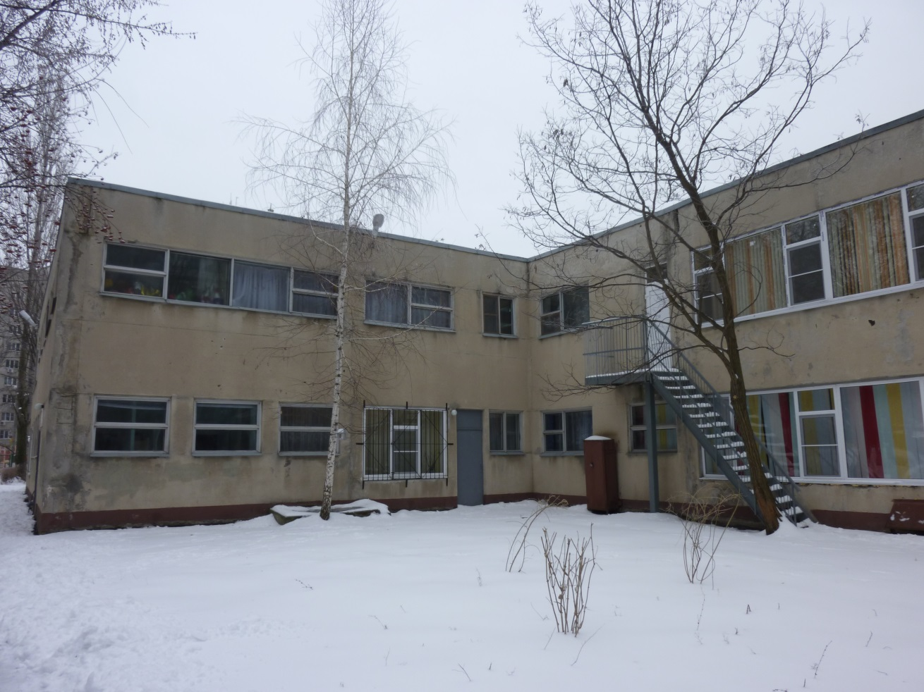 Детский сад  № 315. Обследование и разработка проекта усиления строительных конструкций здания