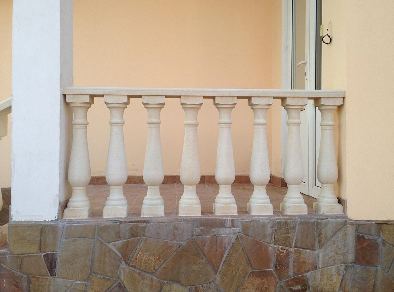 закуп перила из камня для лестниц фото ворота