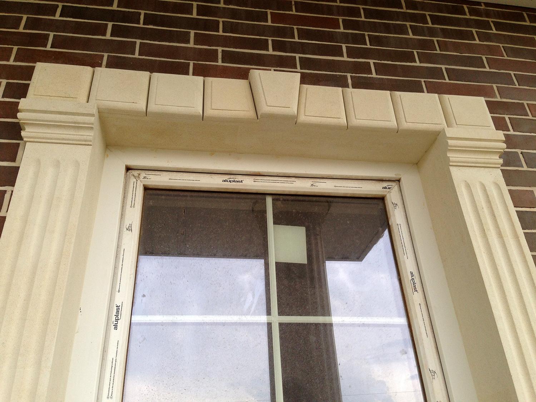 Полиуретановые наличники для фасада